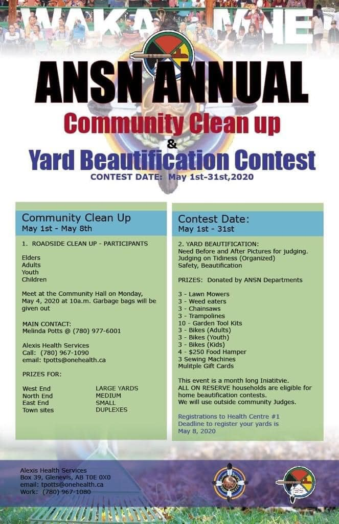 Community Clean-Up & Beautification 2020